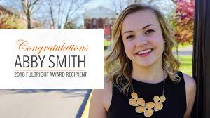 Alumna Abby Smith '16 Awarded Fulbright Grant | Georgetown College