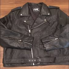 leather motorcycle jacket 4x fits like