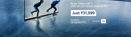 Nokia 55 Inch Ultra Hd 4k Smart Android TV Store Online - Buy Nokia 55 Inch  Ultra Hd 4k Smart Android TV Online at Best Price in India