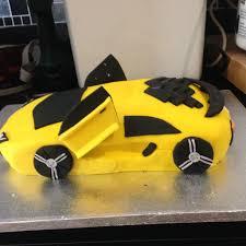 Lamborghini Cake Carreras Cumple Autos