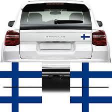 4x Finland Flag Car Van Stickers Suomen Lippu Tarra Bike Decal Graphics Ebay