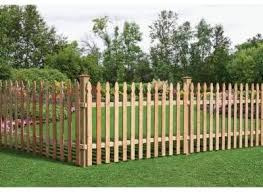 3 1 2 Ft X 8 Ft Western Red Cedar Spaced Picket French Gothic Fence Panel Kit Amazon Ca Home Kitchen
