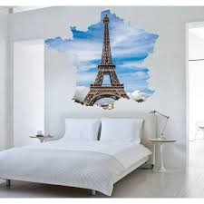 Shop Full Color Paris Eiffel Tower Full Color Decal Full Color Sticker Colored Paris Sticker Decal 33 X 33 Overstock 15900222