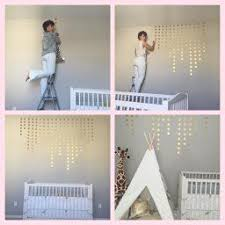 Amazon Com Gold Wall Decal Dots 200 Decals Easy Peel Stick Safe On Walls Paint Removable M Baby Girl Wall Decor Nursery Accent Wall Gold Wall Decals