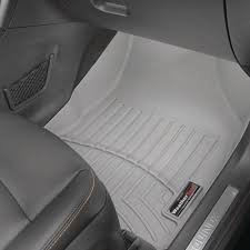 weathertech grey front floorliner