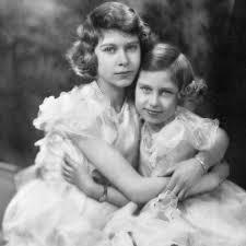 Queen Elizabeth II and Princess Margaret Pictures   POPSUGAR Celebrity