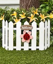Seasonal Fence Garden Decor The Lakeside Collection