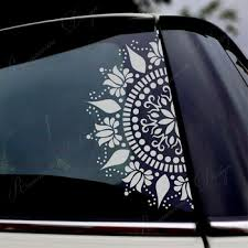 Super Deal 8b76 Beautiful Mandala Car Decor Decals Vinyl Window Sticker Decals Lotus Flower Decoratiove Ormanent Removable Murals 4386 Cicig Co