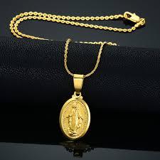 jewelry virgin mary necklaces pendants