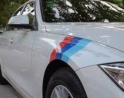 Motorsport Vinyl Stripe For Bmw Performance Race Car Body Exterior German Audio Tech