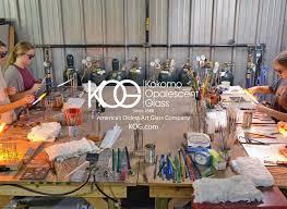 kokomo opalescent glass factory tours