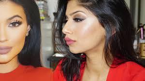 kylie jenner inspired makeup sparking