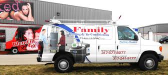 Family Heating Air Conditioning Hvac Graphics Van Graphics Van Wraps Van Decals Vehicle Graphics Indianapolis By Dr Hvac Company Rainy Day Hvac