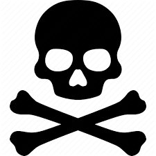 pirate poison skeleton skull icon