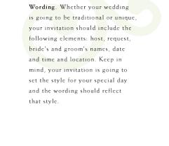 hosting wedding invitation wording