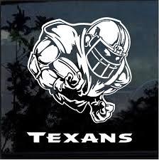 Houston Texans Football Player Window Decal Sticker Custom Sticker Shop