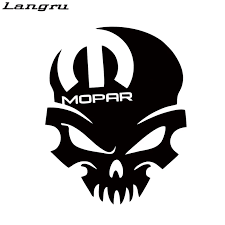 Langru Hot Sale For Mopar Skull Vinyl Decal Sticker Graphic Window Car Styling Accessories Graphics Jdm Car Styling Jdm Stylewindow Car Aliexpress