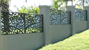 modern metal fence panel otomientay info