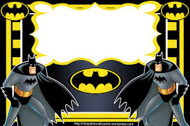 Pin De Naza R En Ag Con Imagenes Invitaciones De Batman