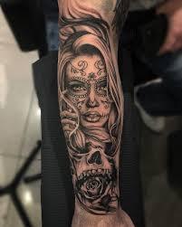 Day Of The Dead Girl Done Using Cheyenne Tattooequipment