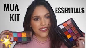 freelance mua kit essentials palettes