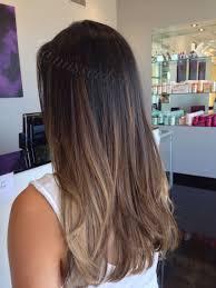 Balayage Soft Ombre Sombre Hair Balayage Cabello Largo Y