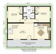 great cottage floor plan plano de