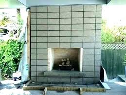concrete outdoor fireplace phamduy info