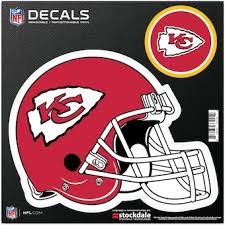 Official Kansas City Chiefs Car Decal Chiefs Window Decal Window Decal For Cars Nflshop Com