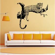 3d Wild Large Leopard Animal Wall Sticker Tiger Wall Decal Art Mural Home Decor Wish
