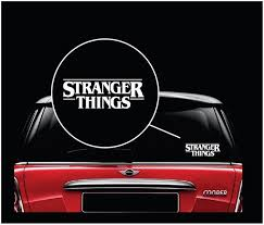 Awesome Stranger Things Window Decal Sticker Check It Out Here Https Customstickershop Us Shop Car Decals Stranger Window Decals Band Stickers Dog Decals