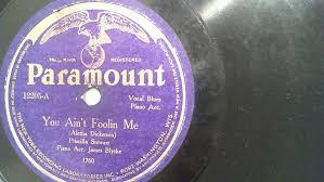 Priscilla Stewart: You Ain't Foolin Me (Rare Pre-War Blues 78) Paramount  #CountryBluesDeltaBlues | Vinyl records, Paramount, Ebay