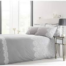 eleanor grey reversible duvet cover and