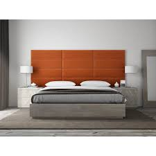 twin king upholstered headboards accent