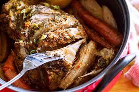 one pot pork roast recipe with garlic