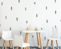Tree Wall Decals Nursery Decor Gift For Mom Wall Decor Kids Room Decals Hand Drawn Tree Decals Wall Art Gift For Kids