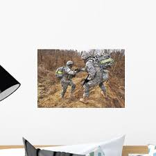 Us Army Soldiers Helps Wall Decal Wallmonkeys Com