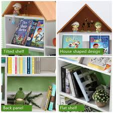 Tribesigns Kids Bookshelf Large Children Bookcase Toddlers Book Display For Playroom Study Room Or Classroom