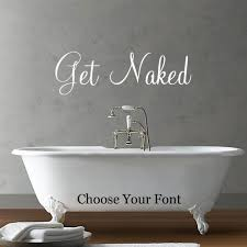 Shop All Decals Quotes And Definitions Wall Decals Get Naked Decal