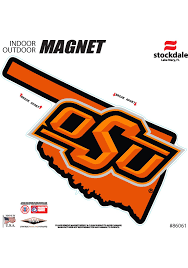 Bumper Stickers Decals Magnets Exterior Accessories Oklahoma State University Osu Pistol Pete Metal Auto Emblem Stockdale