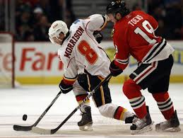 Report: Calgary's Morrison Taunted By Blackhawks After Injury – CBS Chicago