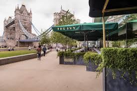 restaurant review the ivy tower bridge