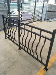 China Factory Of Balcony Railing Used Wrought Iron Fence Panels Buy Balcony Railing Porch Fence Balcony Railing Product On Alibaba Com