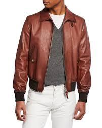 tom ford men s leather zip front er