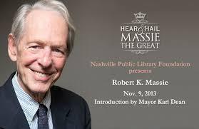 Robert K. Massie, 2013 Literary Award Recipient   Salon@615