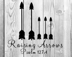 Raising Arrows Decal Etsy