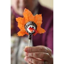 Abby Sprouse / Pinterest via Polyvore | Crafts for seniors, Thanksgiving  crafts, Tootsie pop