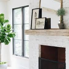 reclaimed wood fireplace mantel design