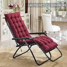 sun lounger cushion garden recliners