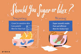 sugaring vs waxing everything you